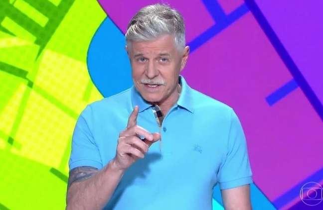 Miguel Falabella foi um dos apresentadores de sucesso da atração.