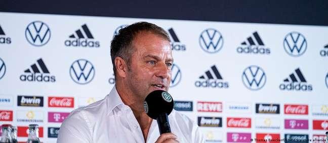 Hansi Flick assumiu a seleção da Alemanha em substituição a Joachim Low