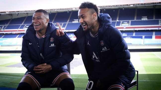 Mbappé e Neymar andam estremecidos no PSG