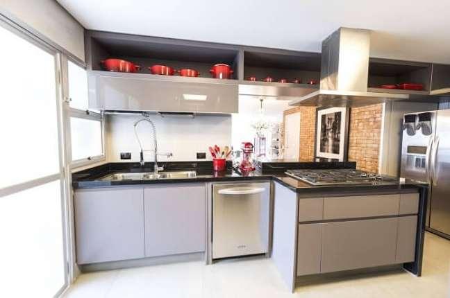49. Projeto de cozinha feng shui. Projeto de Carla Cuono Arquitetura e Interiores