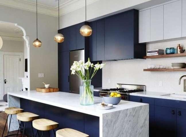 41. O feng shui cozinha garante a circulação de boas vibrações no ambiente. Fonte: Arkpad