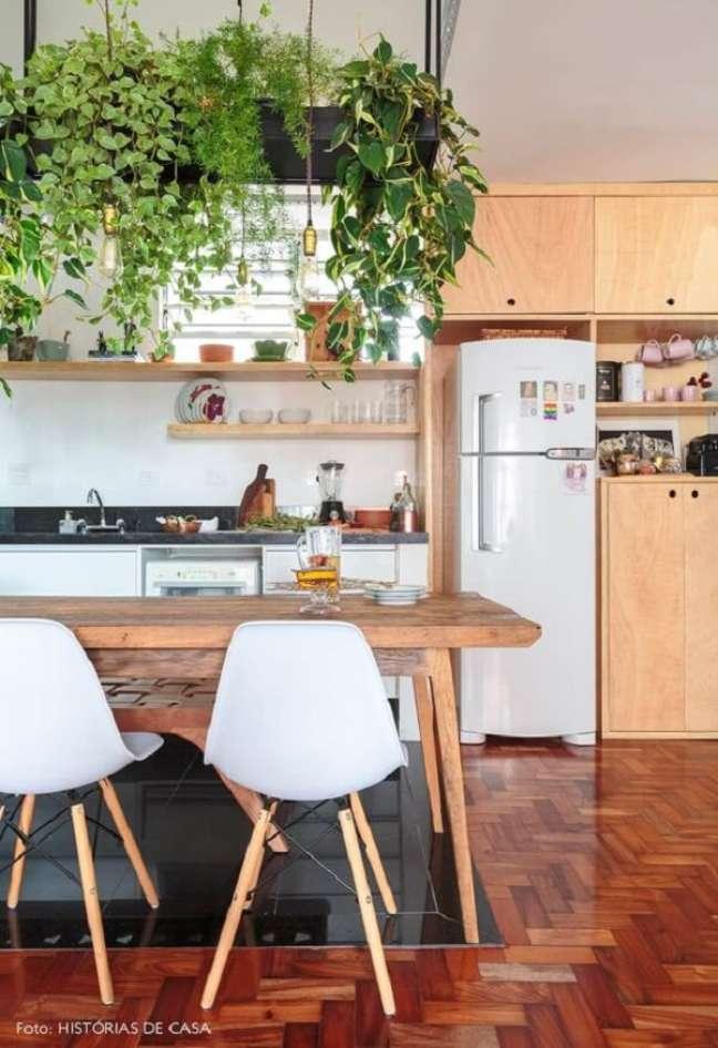 20. As plantas para cozinha feng shui atraem boas energias. Fonte: Histórias de Casa