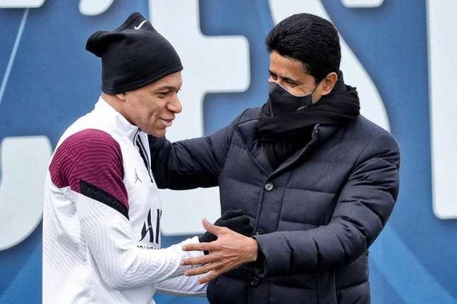 Saída de Mbappé do PSG ao Real Madrid pode render dinheiro ao Monaco (Foto: Divulgação / Site oficial do PSG)