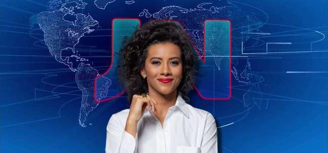 Aline Midlej, 38 anos, entrou na GloboNews em 2016 e, desde julho, é a âncora do 'Jornal das 10'