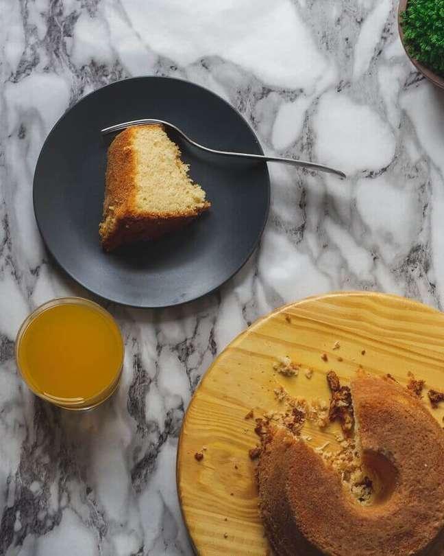 5. Receita de calda para bolo de laranja – Foto: Unsplash