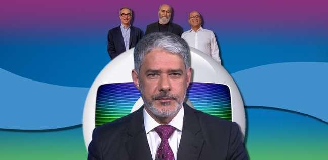 Bonner e os Marinhos, donos do Grupo Globo: não há poder sem sequelas