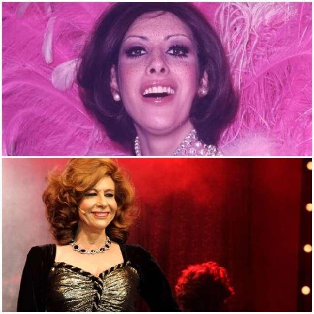 Divina Valéria na década de 1970 e no documentário 'Divinas Divas', de 2017: precursora entre os artistas LGBTQIA+ do Brasil