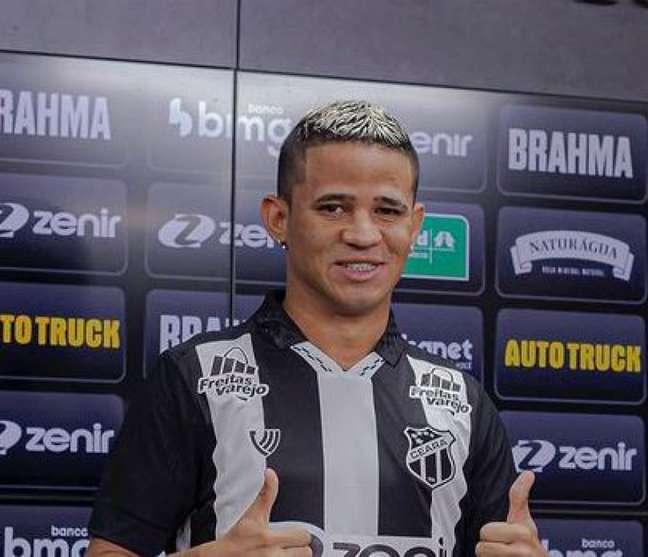 Erick é uma das apostas do Vozão Wilton Hoots/Ceará