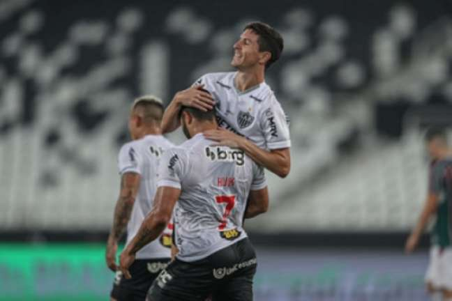 O galo pode empatar no duelo de volta, no dia 15 de setembro, que chegará à semifinal da Copa do Brasil-(Pedro Souza/Atlético-MG)