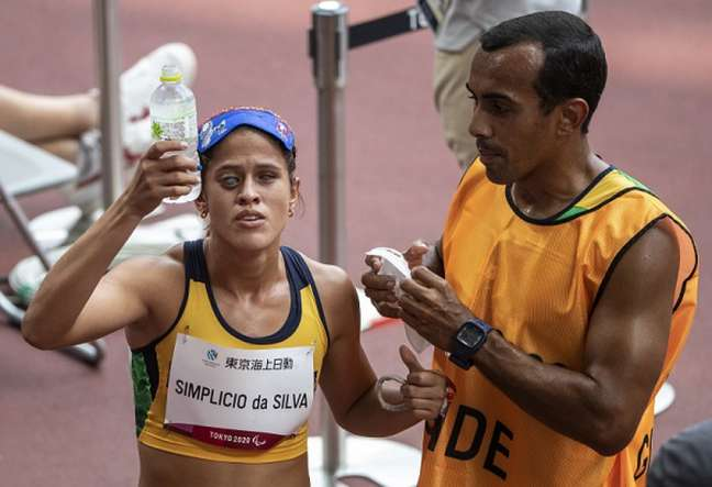 Thalita Simplicio conquistou a medalha de prata nos 400m rasos (Foto: Ale Cabral/CPB)