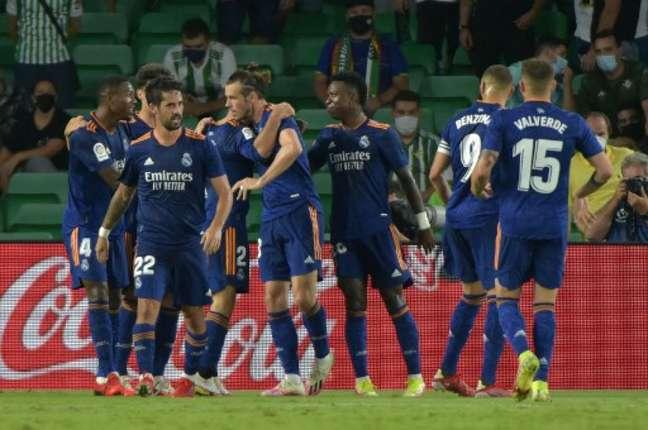 Real Madrid conquistou mais três pontos (Foto: CRISTINA QUICLER / AFP)