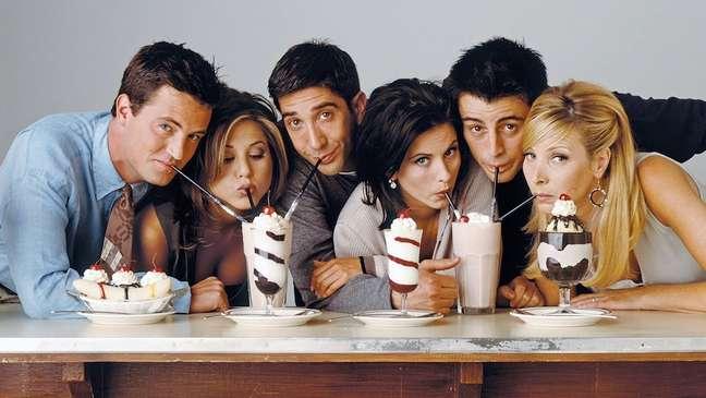 Série acompanhou a vida de seis amigos moradores de Nova York.