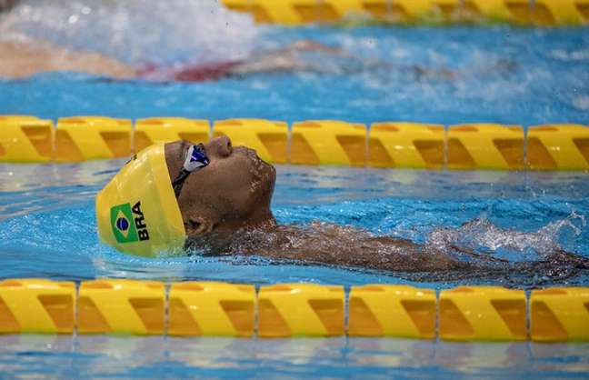 Gabriel Araújo conquistou a segunda medalha nas Paralimpíadas de Tóquio neste domingo (Foto: Ale Cabral/CPB)