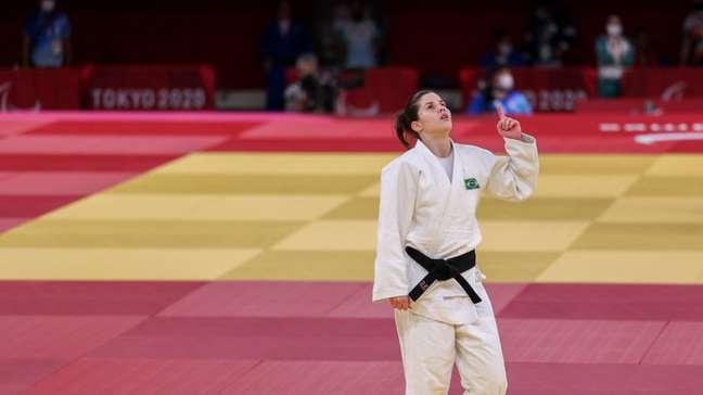 Alana Maldonado é medalha de ouro no judô paralímpico (Foto: Matsui Mikihito/CPB)