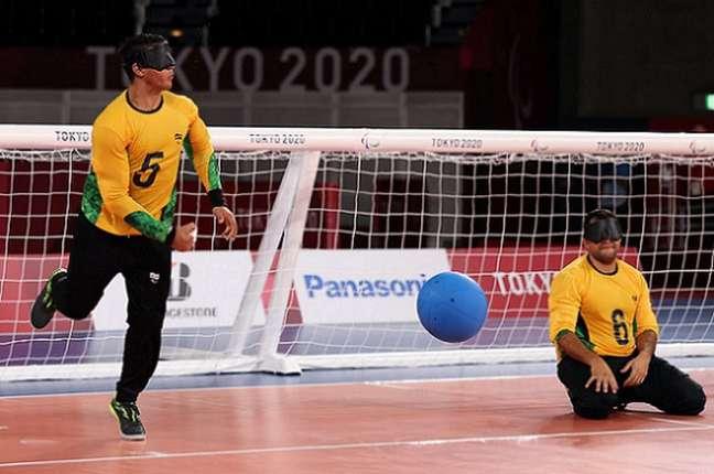 José Márcio, com cinco gols e Leomon, com três, foram os artilheiros da partida (Foto: Matsui Mikihito/CPB)