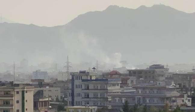 Explosão foi registrada em prédio residencial perto do aeroporto internacional