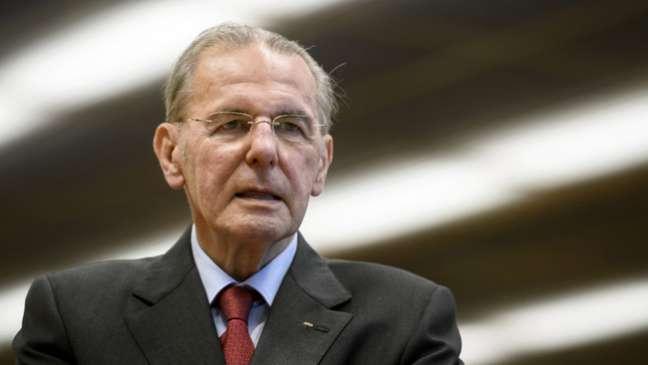 Jacques Rogge, cujo motivo de sua morte não foi confirmado pela família (Foto: AFP)