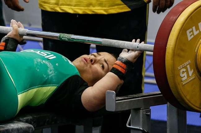 Mariana D'Andrea é campeã paralímpica no halterofilismo (Foto: Marco Antonio Teixeira/MPIX/CPB)