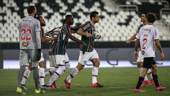 Fred é a esperança de gols do Fluminense no Brasileirão (Foto: Lucas Merçon/Fluminense FC)