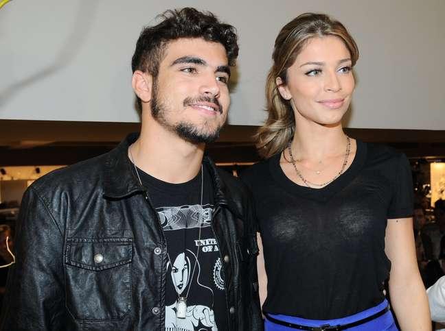 Caio Castro e Grazi Massafera terminaram o namoro de dois anos