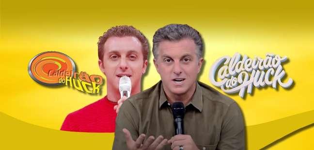 Huck aos 28 anos na estreia na Globo, em 2000, e hoje, quase cinquentão: a 'loucura, loucura, loucura' deu muito certo
