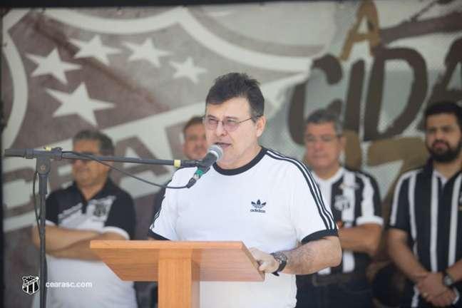 Robinson de Castro, presidente do Vozão (Mauro Jefferson/cearasc.com)