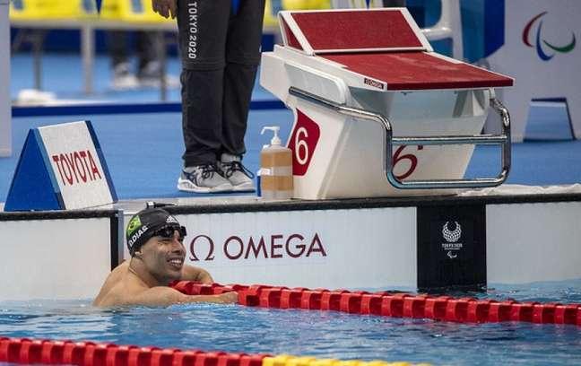 Daniel Dias não conseguiu medalha na prova dos 50m costas nesta segunda-feira (Foto: Ale Cabral/CPB)