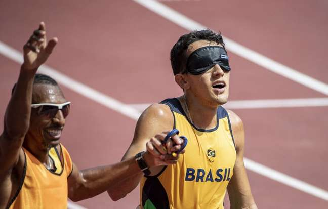Yeltsin Jacques vai disputar a final dos 1.500m, classe T11 (Ale Cabral/CPB)