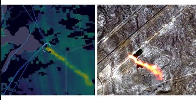 Satélites detectaram vazamentos de metano em todo o mundo, incluindo em tubulações de gás em países como o Cazaquistão