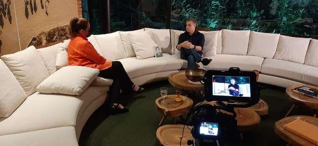 Reportagem especial com o apresentador foi ao ar neste domingo (29).