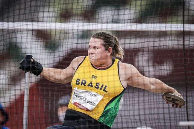 Beth Gomes ficou com o ouro no arremesso de peso (Foto: Wander Roberto/CPB)
