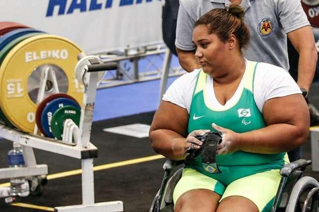 Tayana Medeiros ficou na quinta colocação nos Jogos Paralímpicos (Foto: Marco Antonio Teixeira/MPIX/CPB)