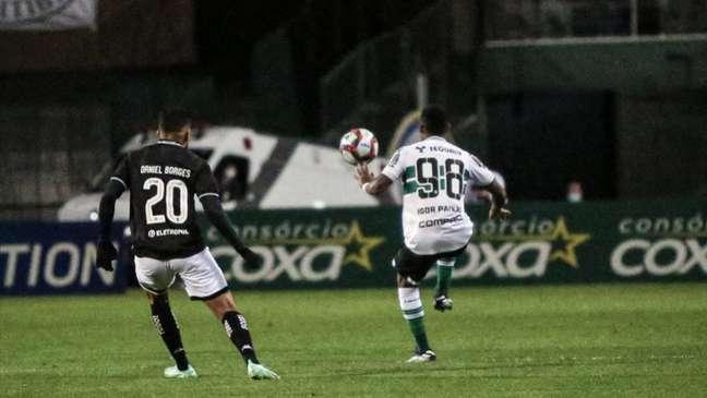 Coxa foi superado pelo Botafogo (Reprodução/Twitter do Coritiba)