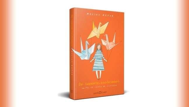 O livro apresenta uma jovem que precisa aprender a ser feliz enquanto enfrenta a esclerose múltipla