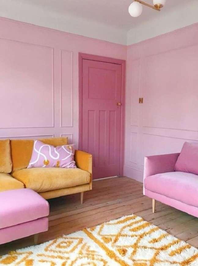 4. Existe um mundo de possibilidades na hora de compor a decoração com tons rosados. Fonte: Fifi McGee