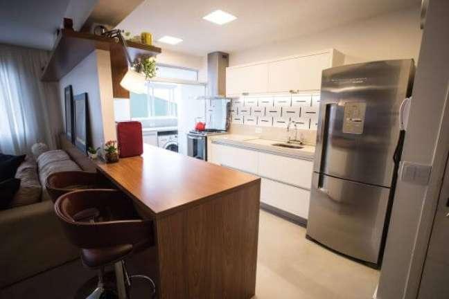 3. Aprenda como organizar geladeira inverse – Foto Tria Arquitetura