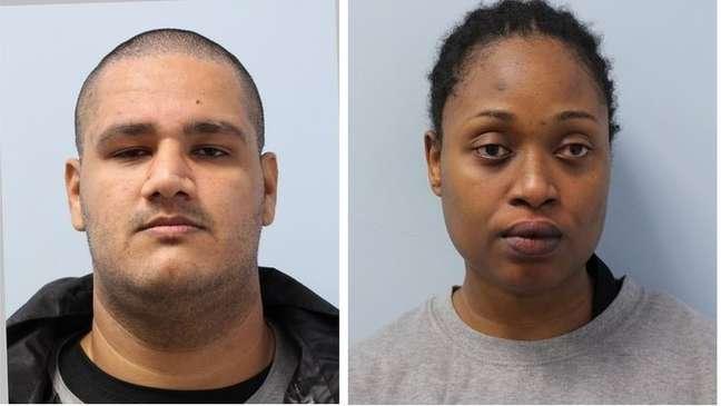 Hussain Ednanie e Shana Stanley foram condenados pelo caso envolvendo as brasileiras