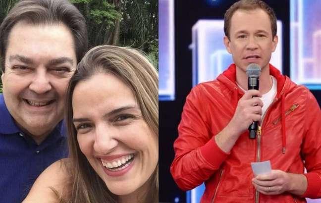 Luciana Cardoso elogiou o trabalho de Tiago Leifert no comando do 'Super Dança dos Famosos'