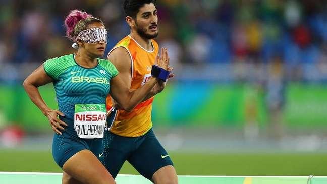 Terezinha Guilhermina conquistou oito medalhas paralímpicas