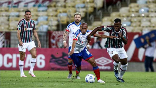 Confronto aconteceu no Maracanã na última segunda-feira (30) (Lucas Merçon/Fluminense F.C.)