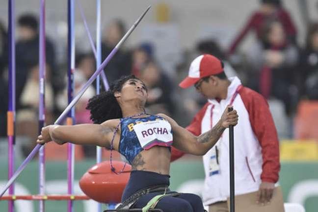 Raissa Rocha Machado conquistou uma medalha de prata em Tóquio (Foto: Douglas Magno/CPB )