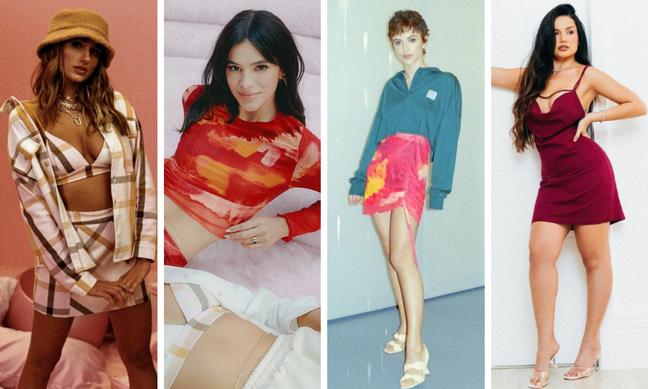 Famosas com looks da Bruna Marquezine e da Sasha (Fotos: Instagram/Reprodução)