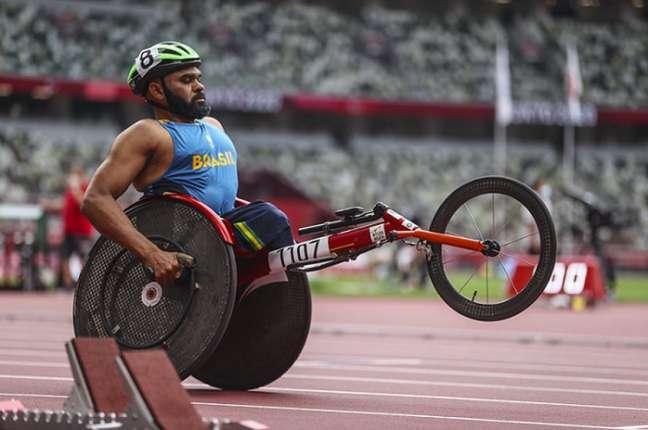 Parré vai disputar os 100m rasos da classe T53 do atletismo nos Jogos Paralímpicos (Foto: CPB)