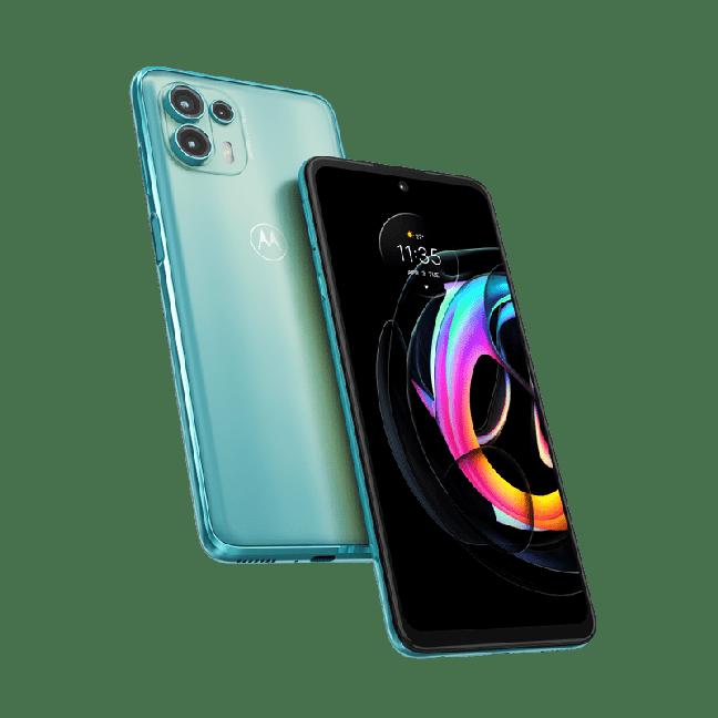 O Motorola Edge 20 Lite conta com somente duas lentes na parte de trás.