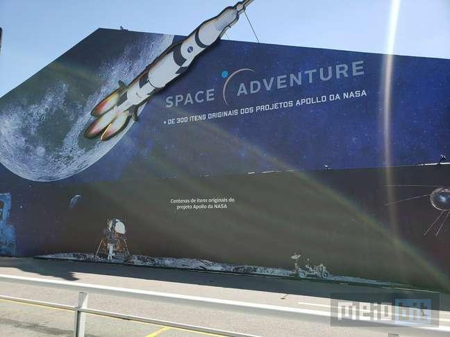 Space Adventure. é maior por dentro do que por fora.