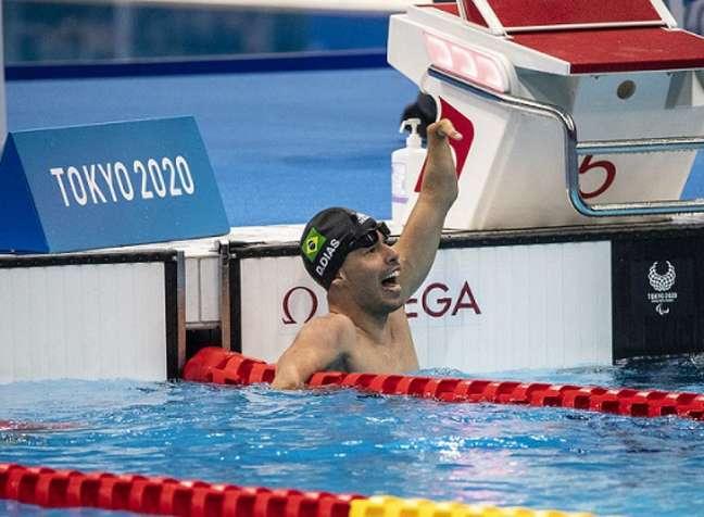 Daniel Dias disputa a última prova da carreira nesta quarta-feira, em Tóquio (Foto: Ale Cabral/CPB)