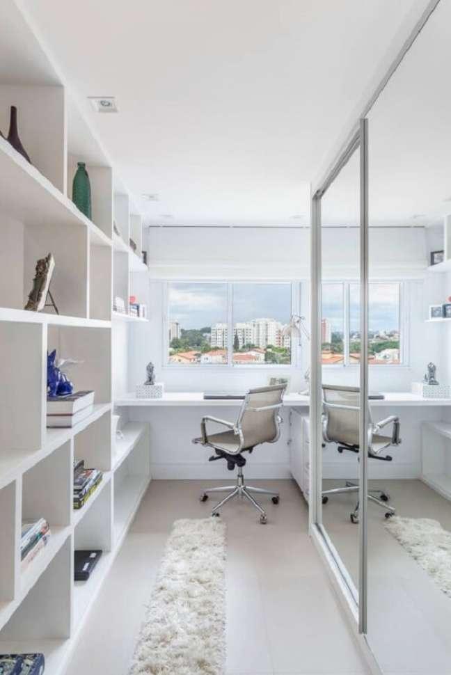 17. Projetos de escritórios pequenos e feitos sob medida. Foto: Homify