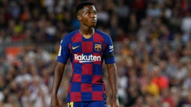 Ansu Fati assume a camisa 10 do Barcelona (AFP)