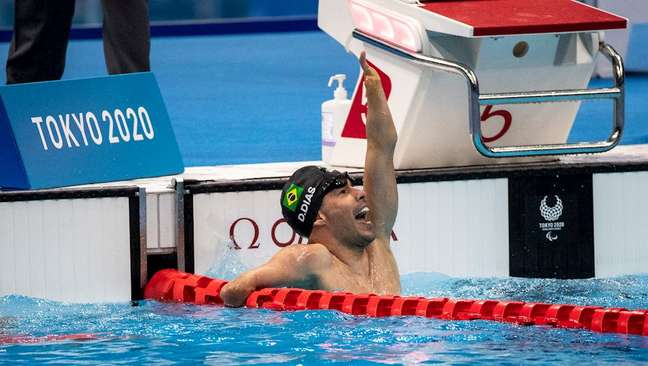 Daniel Dias é o maior medalhista brasileiro da história da Paralimpíada
