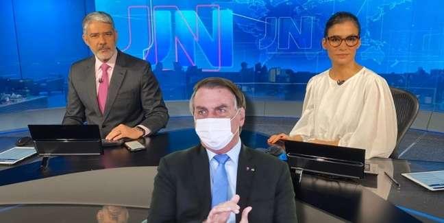 Jair Bolsonaro vê o 'Jornal Nacional' como inimigo tão nocivo quanto o coronavírus